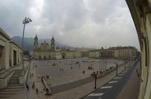 Plaza de Bolívar de Bogotá - Portal Bogotá - Foto:bogota.gov.co - Juan Manuel Arboleda