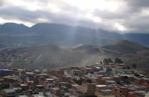 Panorámica mirador barrio Sierra Morena - Foto: Alcaldía Local de Ciudad Bolívar