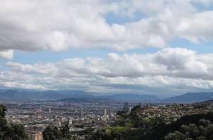 Panorámica de Bogotá - Foto: Redes sociales de la Alcaldía Local de San Cristóbal