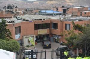 Vista de la Alcaldía Local de Tunjuelito y algo de panorámica de la localidad - Foto: Alcaldía Local de Tunjuelito