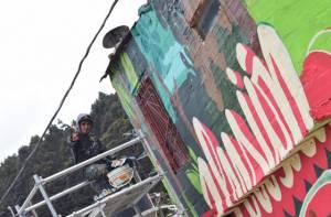 Embellecimiento barrio Aguas Claras - Foto: Prensa Secretaría de Hábitat