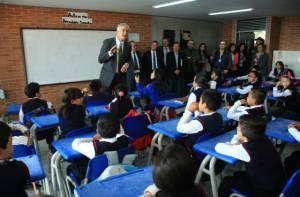 Bienvenida a estudiantes - Foto: Alcaldía Mayor de Bogotá