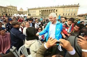 Alcalde con Juntas de Acción Comunal - Foto: Prensa Alcaldía Mayor / Diego Bauman