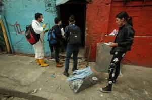 Rescate de animales del Bronx - Foto: Prensa Alcaldía Mayor de Bogotá / Diego Bauman