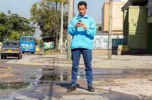 Aplicación móvil identificación de huecos - Foto: Prensa UMV