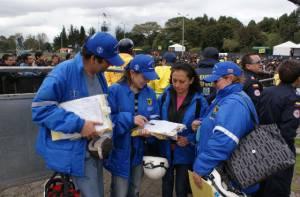 Atención en eventos masivos - Foto: Secretaría de Salud