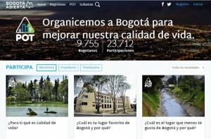 Plataforma Bogotá Abierta - Foto: Prensa Alcaldía Mayor