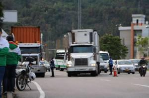 Camiones - Foto: Alcaldía de Chía