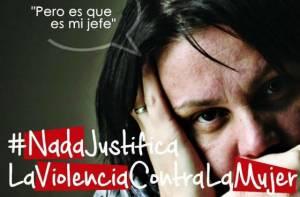 Campaña contra la violencia a la mujer