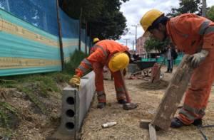 Construcción Avenida La Sirena - Foto: IDU