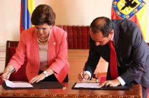Firma convenio Secretaría General - Función Pública
