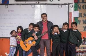 Coro Emberá Katío colegio Agustín Nieto Caballero - Foto: Prensa Secretaría de Educación