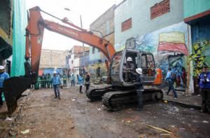 Demolición del Bronx - Foto: Alcaldía Mayor de Bogotá