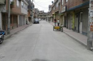 Rehabilitación de vías en la localidad de Engativá