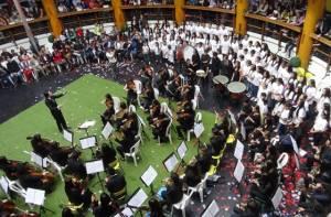 Concierto de la orquesta filarmónica juvenil e infantil - Foto: Alcaldía Local de Usaquén