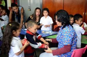 Atención primera infancia - Foto: Prensa Secretaría de Educación