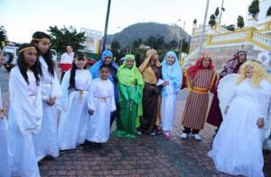 Personajes de la celebración en escena - Foto: blogbagatela.wordpress.com