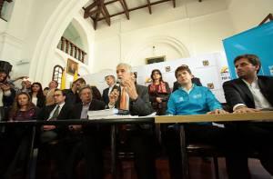 Entrega Plan de Desarrollo al Concejo - Foto: Prensa Alcaldía Mayor de Bogotá/ Diego Bauman