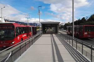 Estación TransMilenio Calle 146 - Foto: Comunicaciones TransMilenio