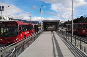 Estación Calle 146 - Foto: Prensa TransMilenio