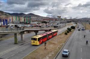 TransMilenio de Soacha. Estación Terreros.