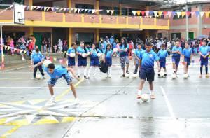 Deportistas beneficiados entrenando - Foto: Oficina de Prensa-Alcaldía Local de Chapinero