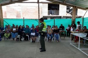 Talleres de socialización Código de Policía - Foto: Prensa Policía Nacional