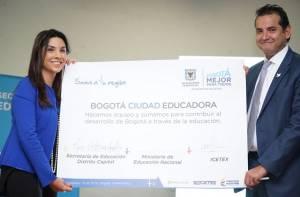 Alianza Secretaría de Educación e ICETEX - Foto: Prensa Secretaría de Educación