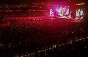 Concierto Rolling Stones - Foto: Prensa Alcaldía Mayor de Bogotá / Camilo Monsalve