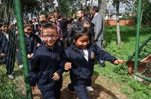 Estudiantes colegios de Usaquén - Foto: Prensa Secretaría de Educación