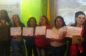 Graduación Mujeres recicladoras - Foto: Prensa UAESP