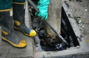 Limpieza del alcantarillado - Foto: Acueducto de Bogotá