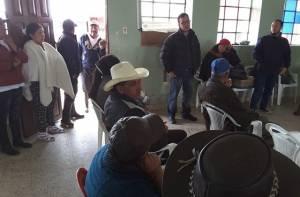Encuentro de Sergio Martínez Medina, Alto Consejero Distrital de TIC con la comunidad - Foto: Alta Consejería Distrital de TIC