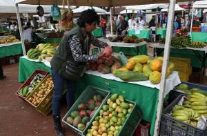 Mercados campesinos - Foto: Prensa Alcaldía Mayor / Diego Bauman