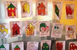 Niños dibujan sobre impuestos - Foto: Secretaría de Hacienda