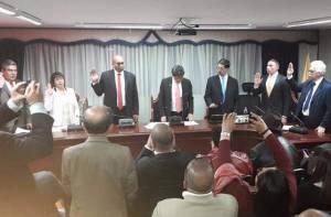 Integrantes y posesión de la nueva Junta Administradora Local de Santa Fe - Foto: Edil Mario Velásquez
