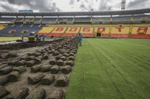 Obras estadio El Campín - Foto: Prensa Alcaldía Mayor de Bogotá / Camilo Monsalve