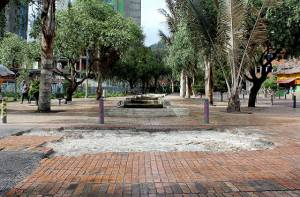 Obras Eje Ambiental - Foto: Prensa IDU