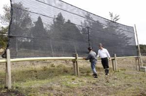 Panel captador de niebla - Foto: Prensa Alcaldía de Chapinero