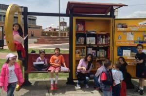 Paraderos para libros - Foto: Secretaría de Cultura, Recreación y Deporte