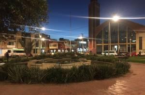 Iluminación Parque Ricaurte - Foto: Prensa UAESP