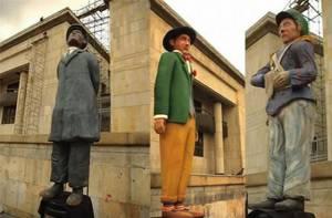 Personajes tradicionales de Bogotá - Foto: Cortesía Germán Izquierdo Manrique