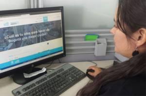 Usted también puede trabajar en el Plan de Desarrollo de Bogotá