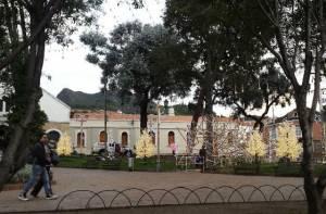 Plaza de Usaquén en Navidad - Foto: Alcaldía Local de Usaquén