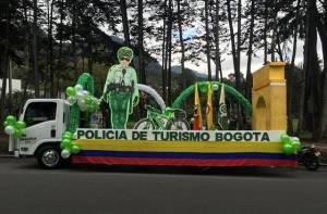 Policía de turismo - Foto: Oficina de Prensa Policía Metropolitana de Bogotá