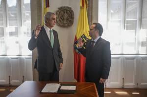 Posesión Secretario de Desarrollo Económico - Foto: Comunicaciones Alcaldía Mayor de Bogotá / Camilo Monsalve