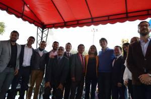 Ediles posesionados y asistentes al acto protocolario - Foto: Alcaldía Local de Suba
