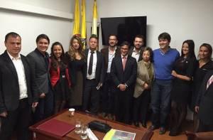 Ediles posesionados y asistentes al acto protocolario - Foto: Alcaldía Local de Usaquén