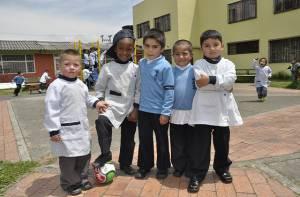 Primera infancia colegio José Asunción Silva - Foto: Prensa Secretaría Educación