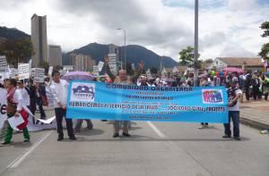 Promoción de la 'Red de la comunidad organizada del espacio de los jueves en salud' - Foto: Jorge Romero